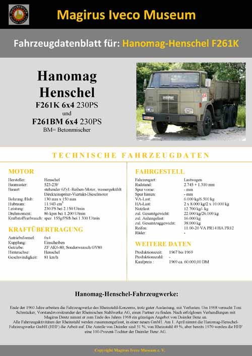 Hanomag -Henschel F261 BM-02