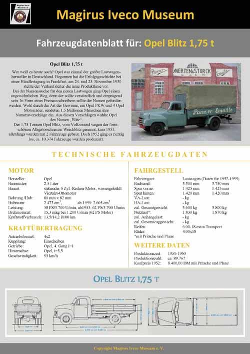Opel Blitz 1-75t